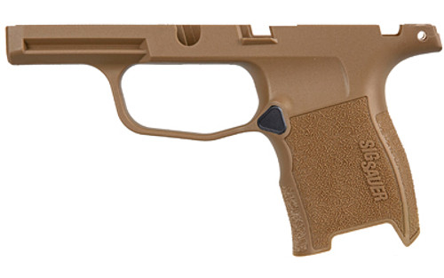Sig Sauer P365 Grip Module Assembly, Coyote Finish, W/  MANUAL SAFETY