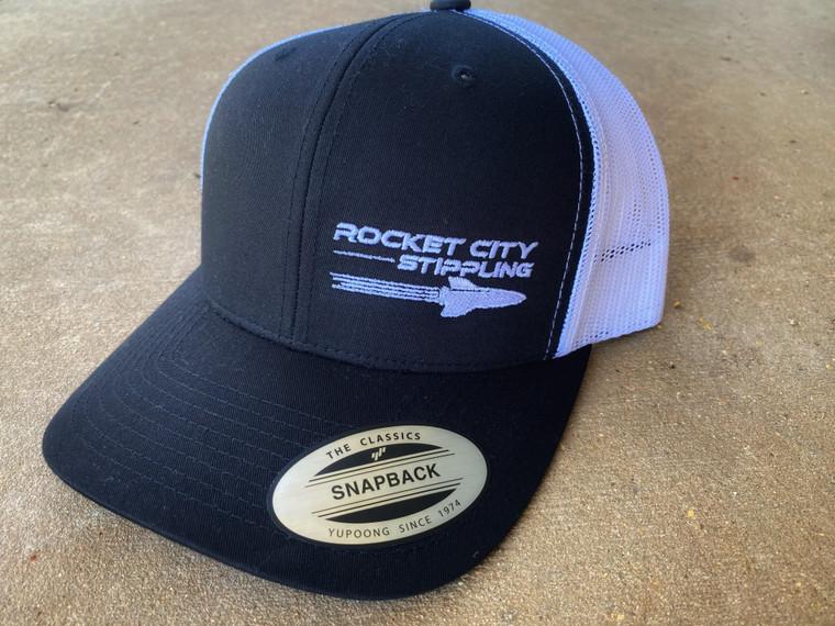 RCS Snapback Black Front/White back Hat