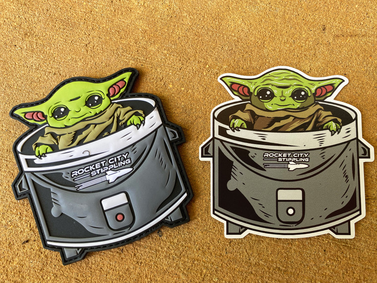 Baby RICECOOKER PATCH & STICKER