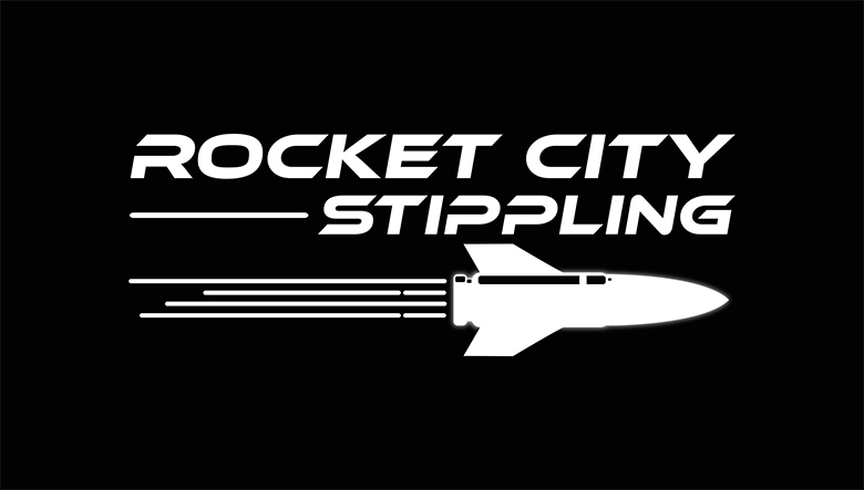 Rocket City Stippling