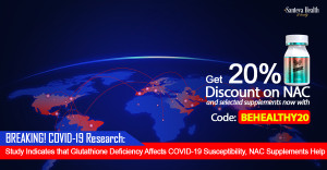 Glutathione Can Be Your Ultimate Savior Against COVID-19 – Russian Study Shows Glutathione's Deficiency Increases COVID-19 Susceptibility