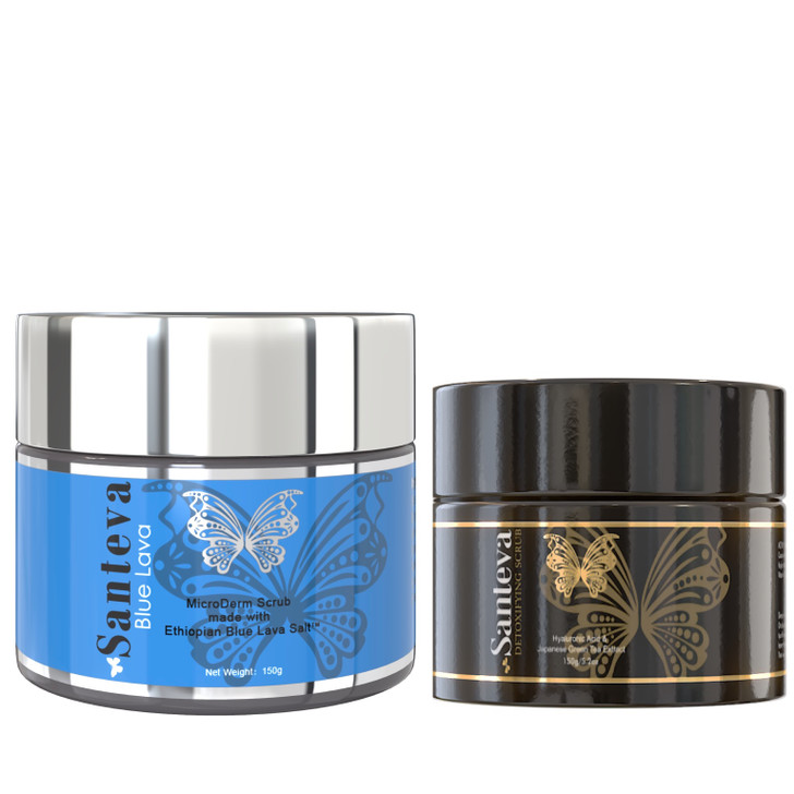 Santeva Brightening Body & Face Scrub