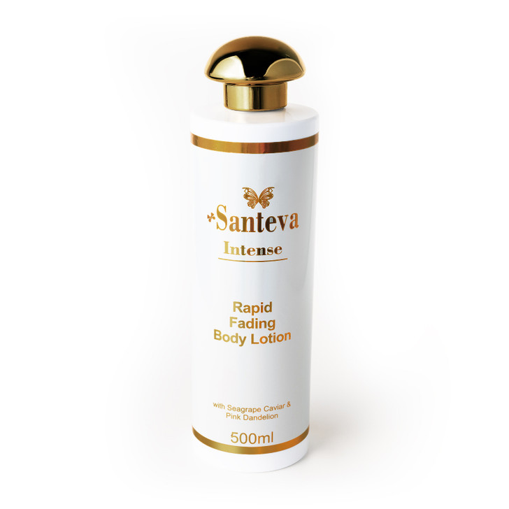 Santeva Intense Rapid Fading Body Lotion - Powerful Pigmentation Lightener (Very Concentrated) 500ml