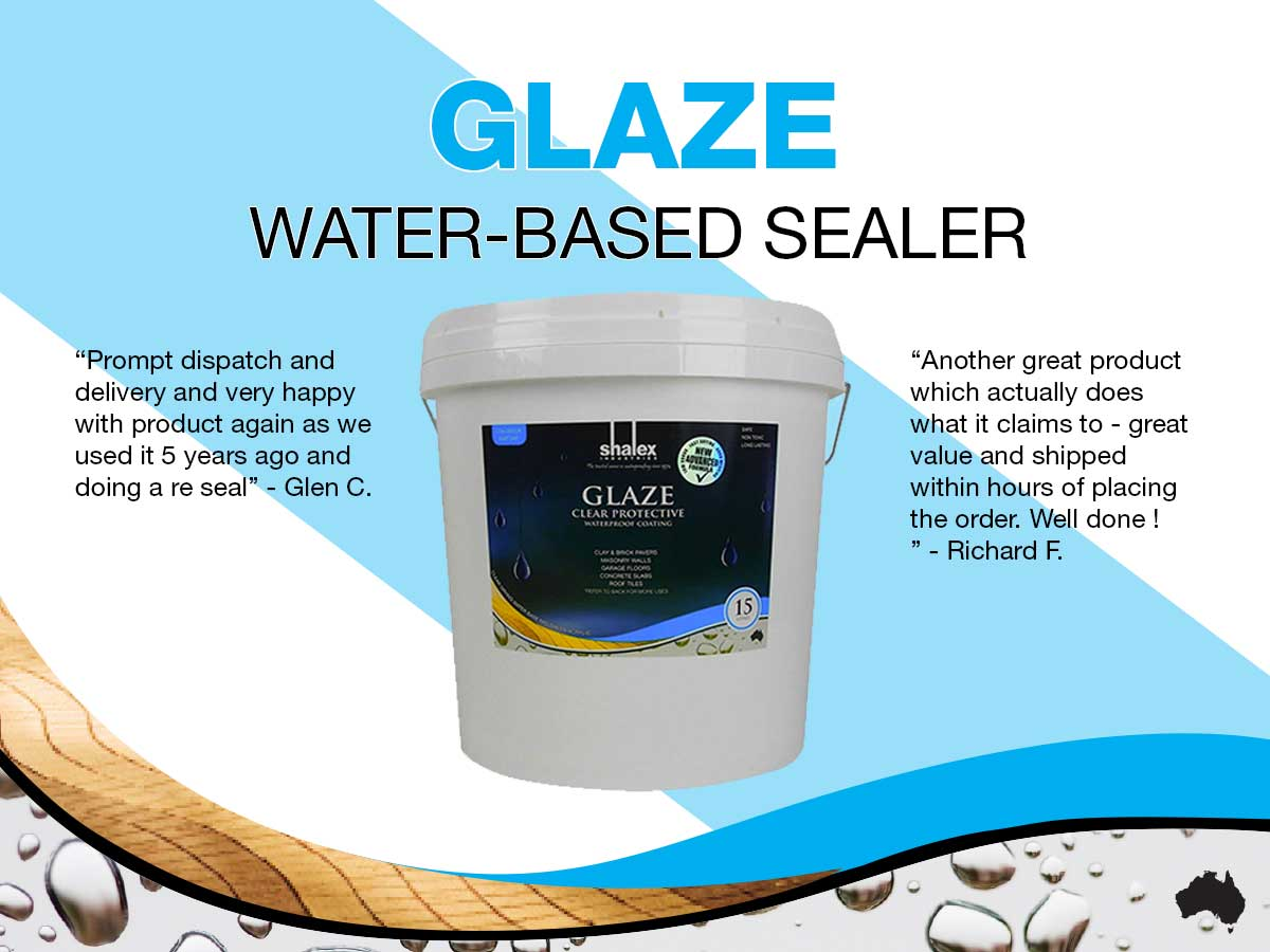 Glaze water based sealer