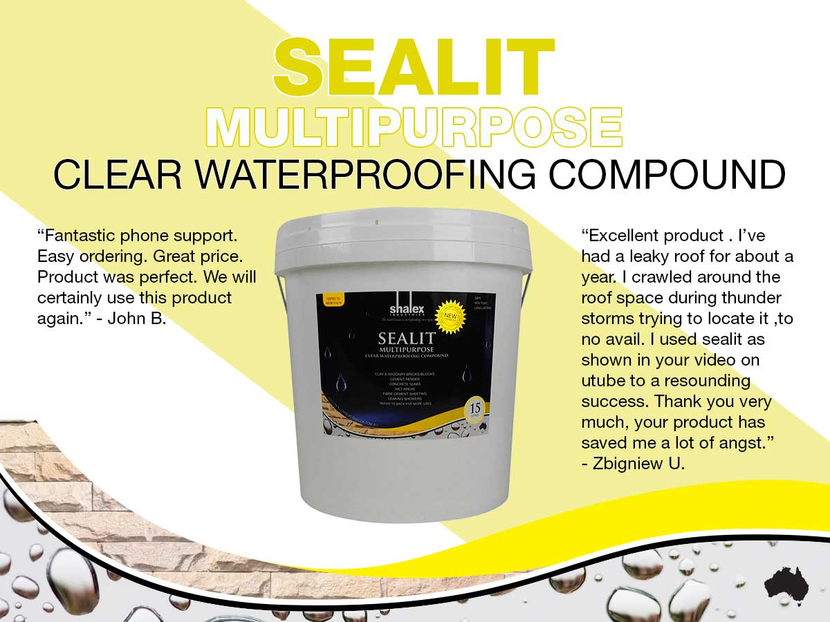 SealIt Clear Waterproofing Compound