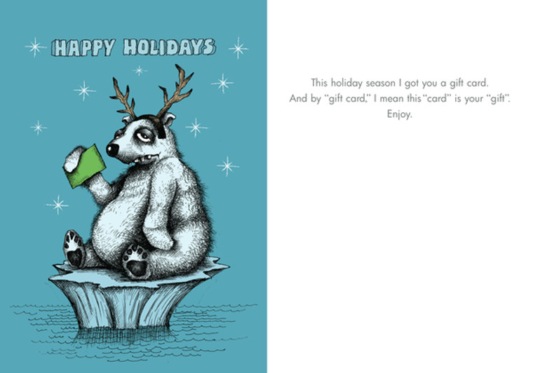 Holiday Gift Card (Box of 8 mini-cards)