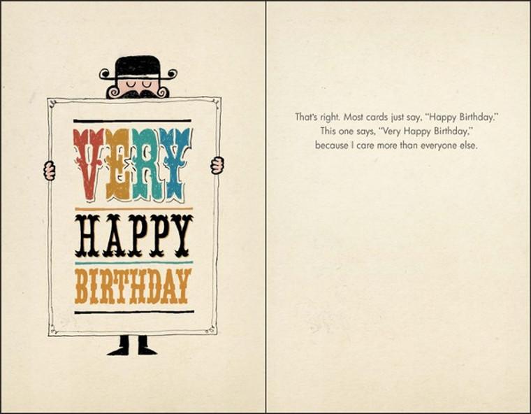 Very Happy Birthday (B)