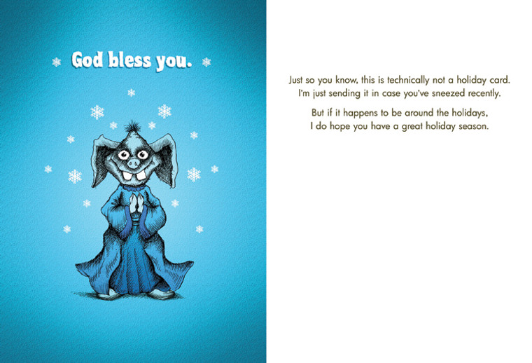 #136a-8  (Box of 8) God Bless You