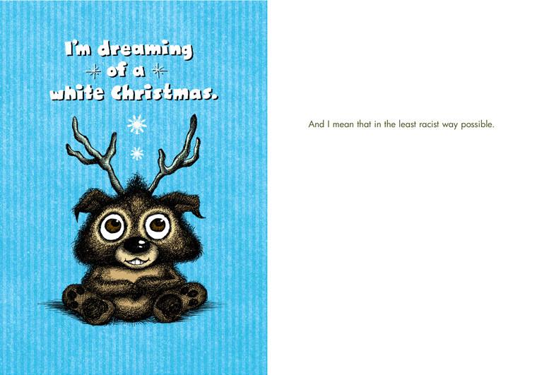 White Christmas (Box of 8 mini-cards)