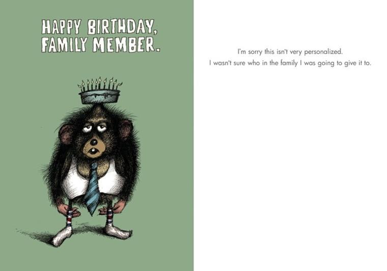 Family Member Birthday