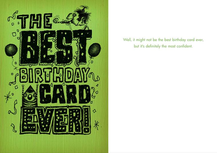 Best. Birthday. Card. Ever.