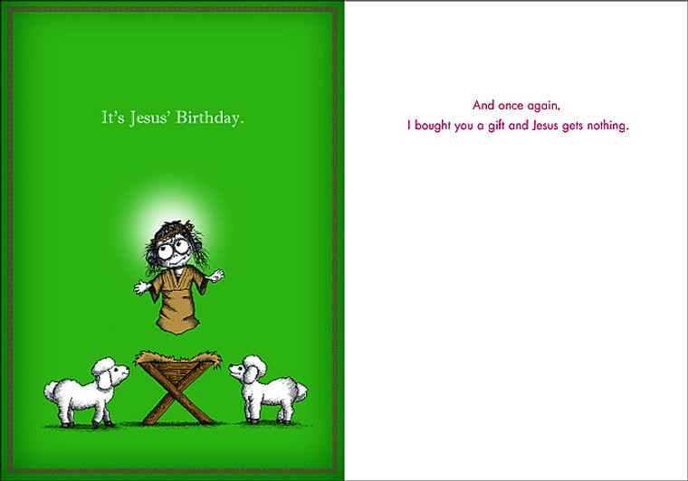 #024a-8  (Box of 8) It's Jesus' Birthday