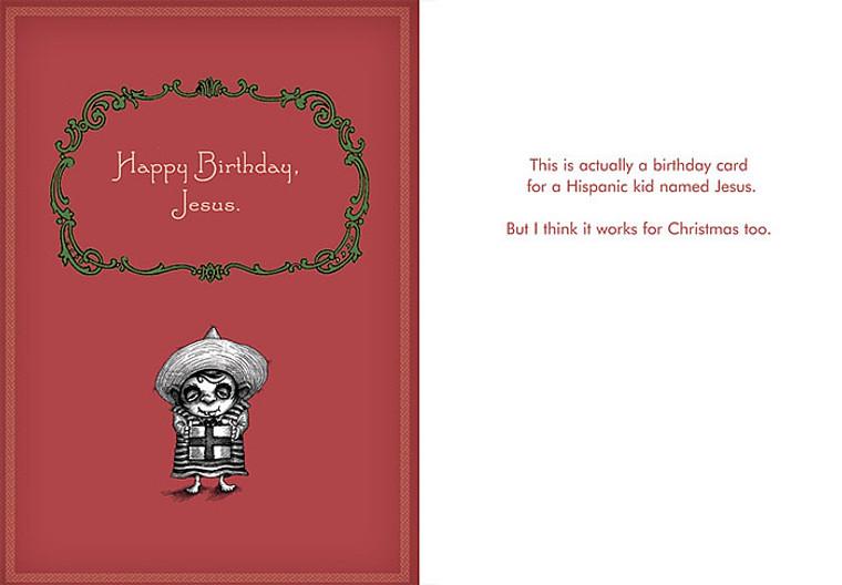 #008a-8  (Box of 8) Happy Birthday, Jesus