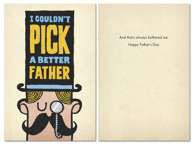 B-068 - And that's always bothered me. Happy Father's Day.
