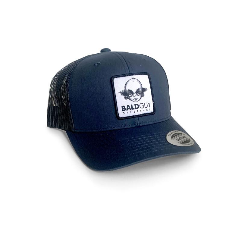 Bald Guy Logo Hat (Blue)