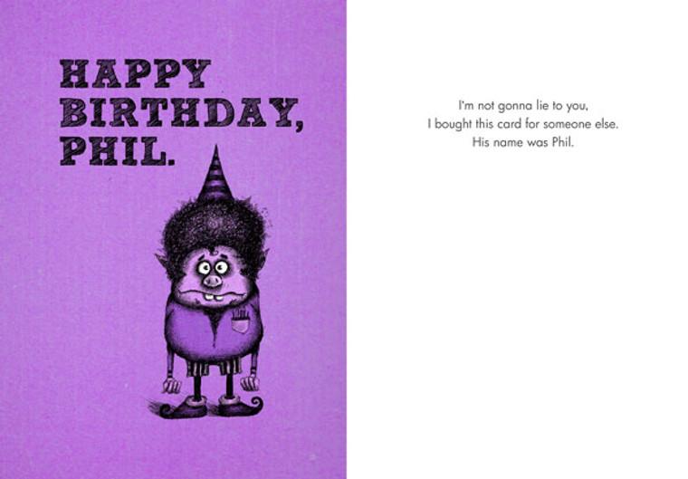 Happy Birthday, Phil