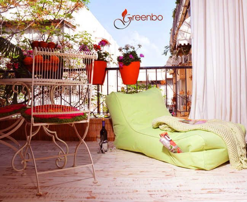 Greenbo railing balcony planter ideas.