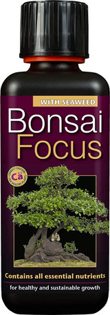 Bonsai Focus Liquid Concentrated Fertiliser 300 ml