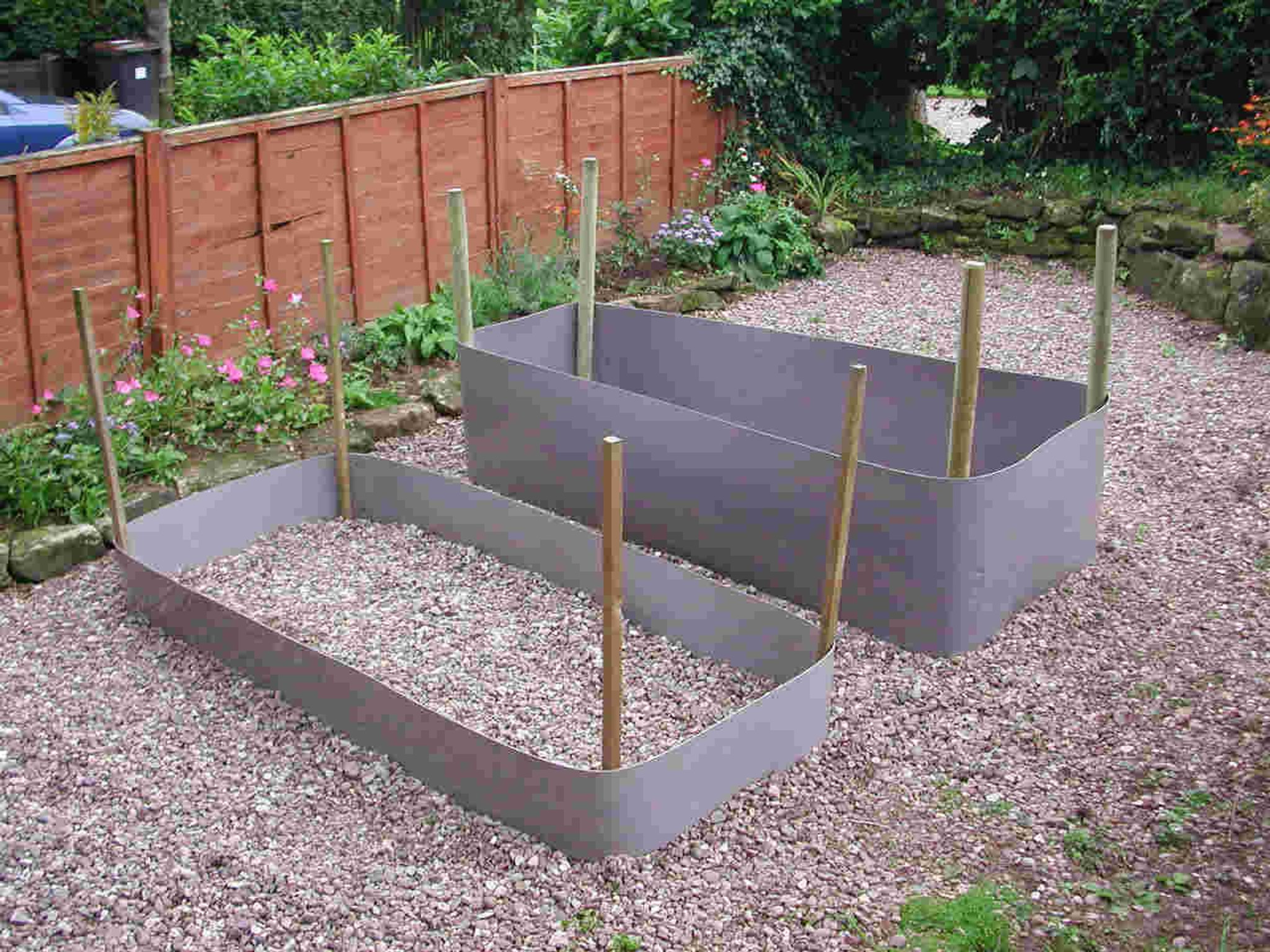 Create your own raised beds