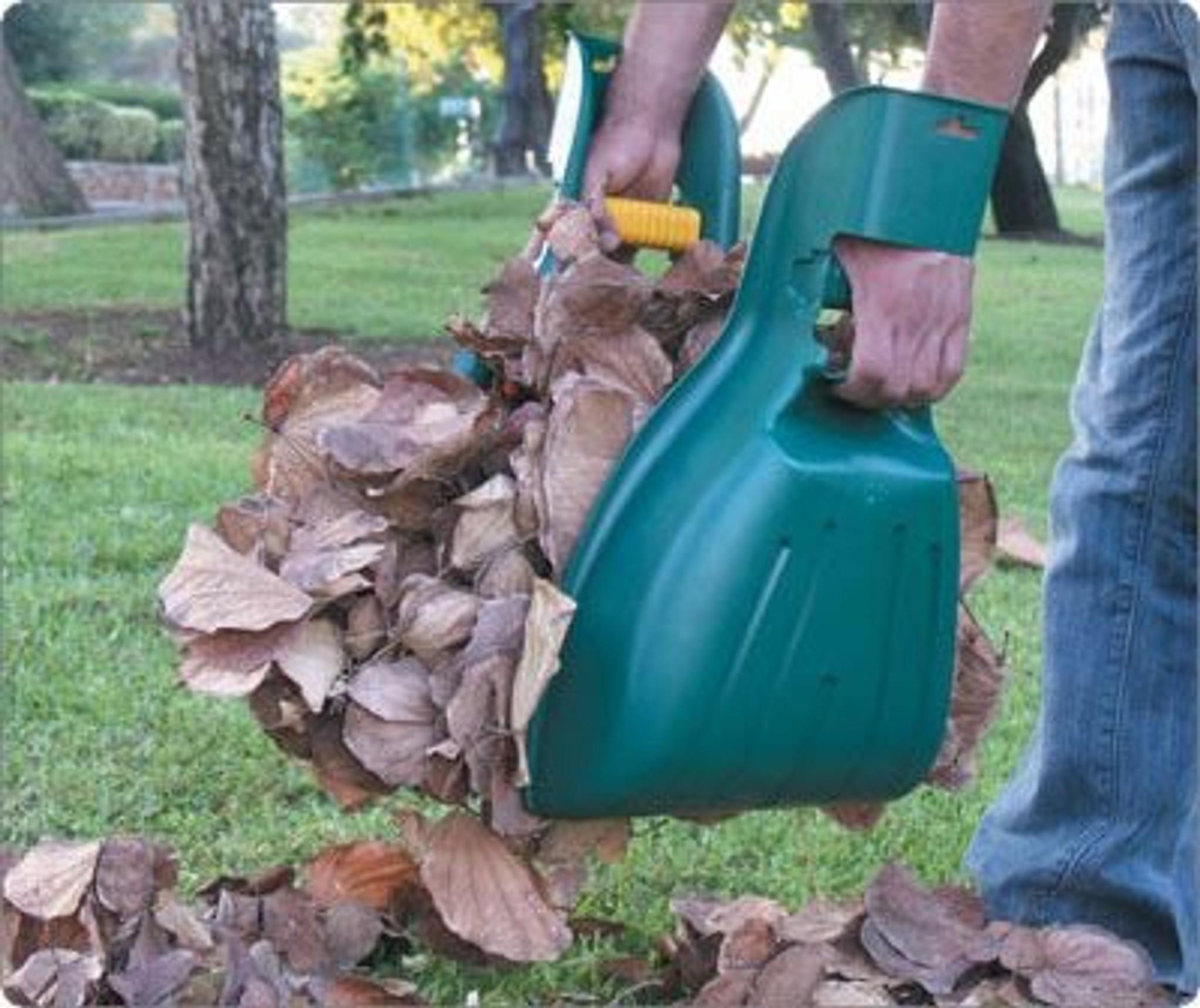 Big hand leaf collectors