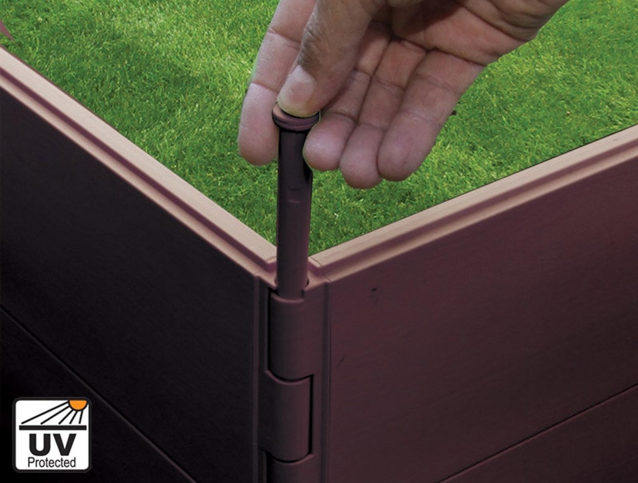 Smart connectors allow for shape changes