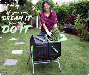 Easy and fast composter
