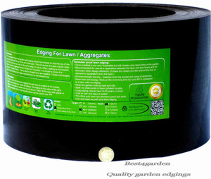Lawn edging Black