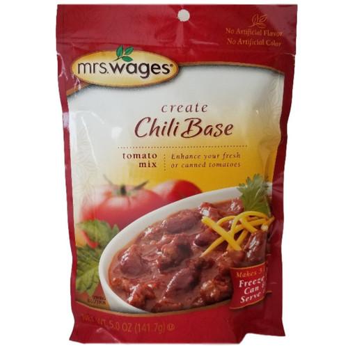 Mrs Wages Chili Base Mix