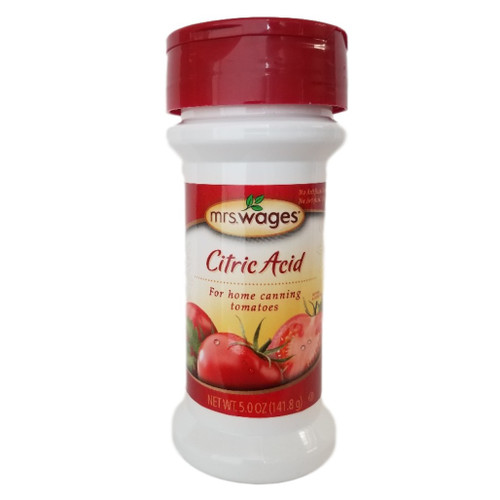 Mrs Wages Citric Acid for home canning tomatoes