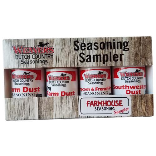 Weavers Dutch Country Seasonings Farmhouse Seasoning Sampler
