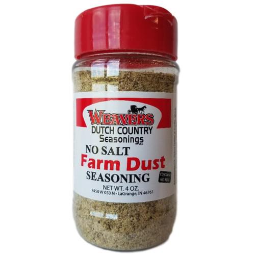Weavers Dutch Country Seasonings No Salt Farm Dust