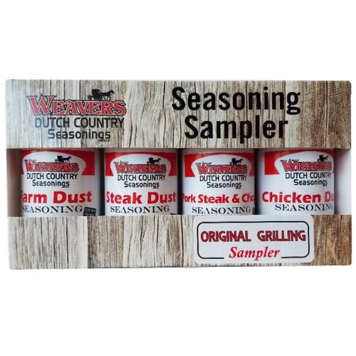 Weavers Dutch Country Seasonings Original Grilling Sampler