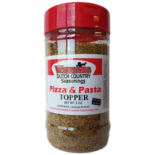 Weavers Dutch Country Seasonings Pizza and Pasta Topper
