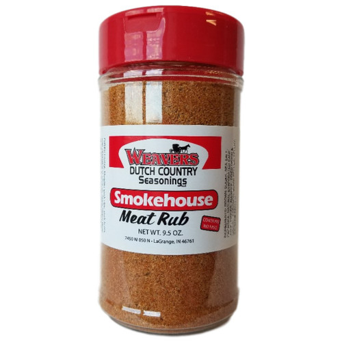 Weavers Dutch Country Seasonings Smokehouse Meat Rub