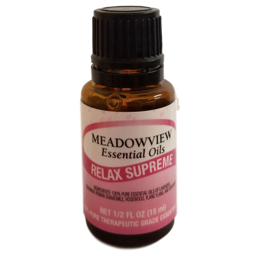 Meadowview Essential Oils Relax Supreme