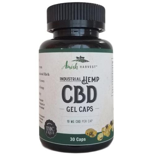 Yoder Naturals Amish Harvest CBD Gel Caps 10 mg CBD per cap