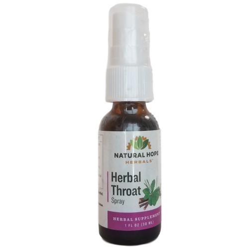 Natural Hope Herbals Herbal Throat Spray