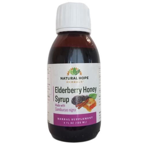 Natural Hope Herbals Elderberry Honey Syrup