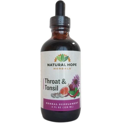 Natural Hope Herbals Throat & Tonsil
