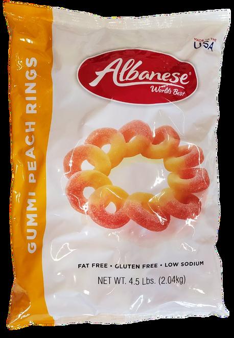 Albanese Gummi Peach Rings