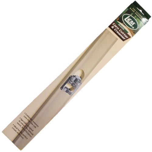 LEM Wood Corn Cutter & Creamer