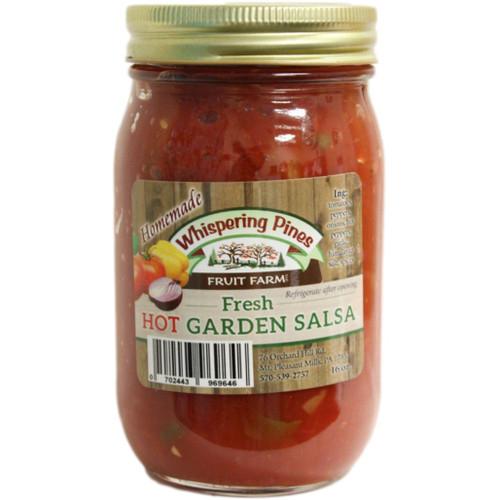 WPFF Hot Garden Salsa