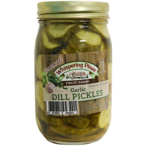 WPFF Garlic Dill Pickles