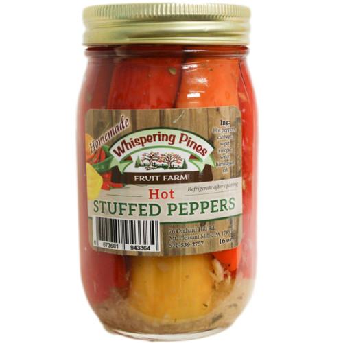 WPFF Hot Stuffed Peppers
