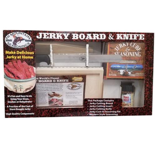 Hi Mountain Jerky Board and Knife