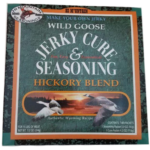 Hi Mountain Jerky Cure & Seasonings Wild Goose Hickory Blend