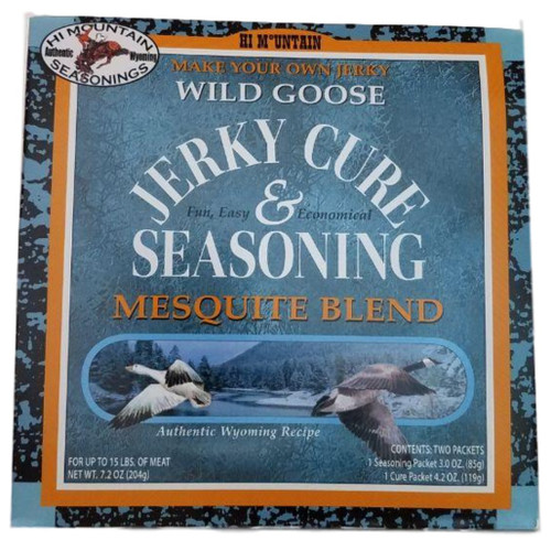 Hi Mountain Jerky Cure & Seasonings Wild Goose Mesquite Blend