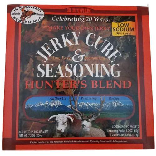 Hi Mountain Jerky Cure & Seasonings Low Sodium Hunters Blend