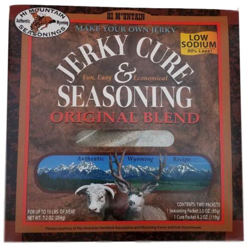 Hi Mountain Jerky Cure & Seasonings Low Sodium Original Blend
