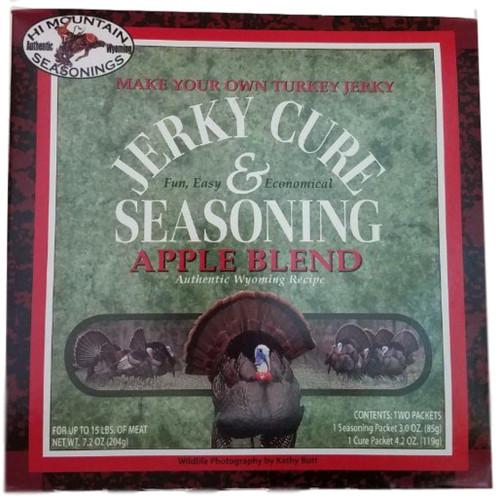 Hi Mountain Jerky Cure & Seasonings Turkey Apple Blend